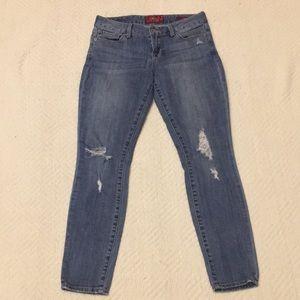 Lucky Brand Distressed Leyla Skinny Jeans